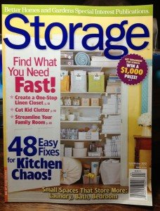 Cover of Storage Fall/Winter 2012